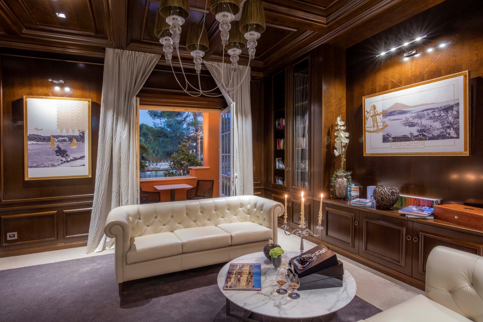 fotografija luksuznog salona hotela