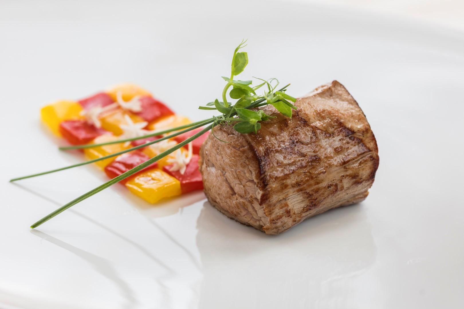 Fotografija gastronomije - biftek