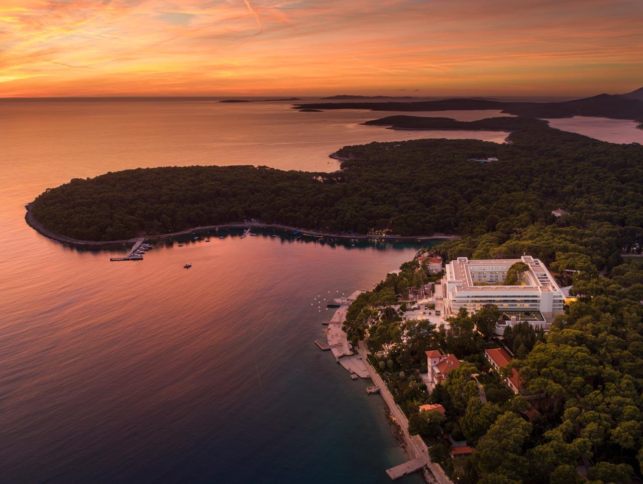 Fotografija hotela iz zraka