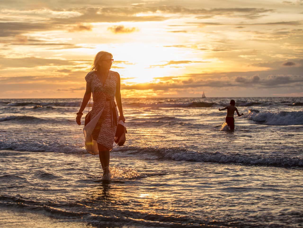 Ljeto, more, suton - lifestyle fotografija