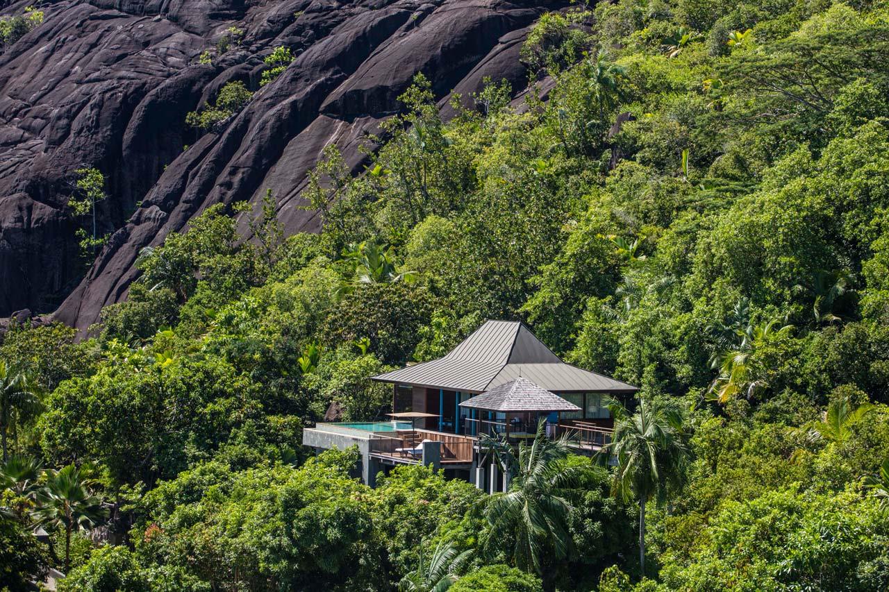 Fotografija luksuznog smještaja u prirodi