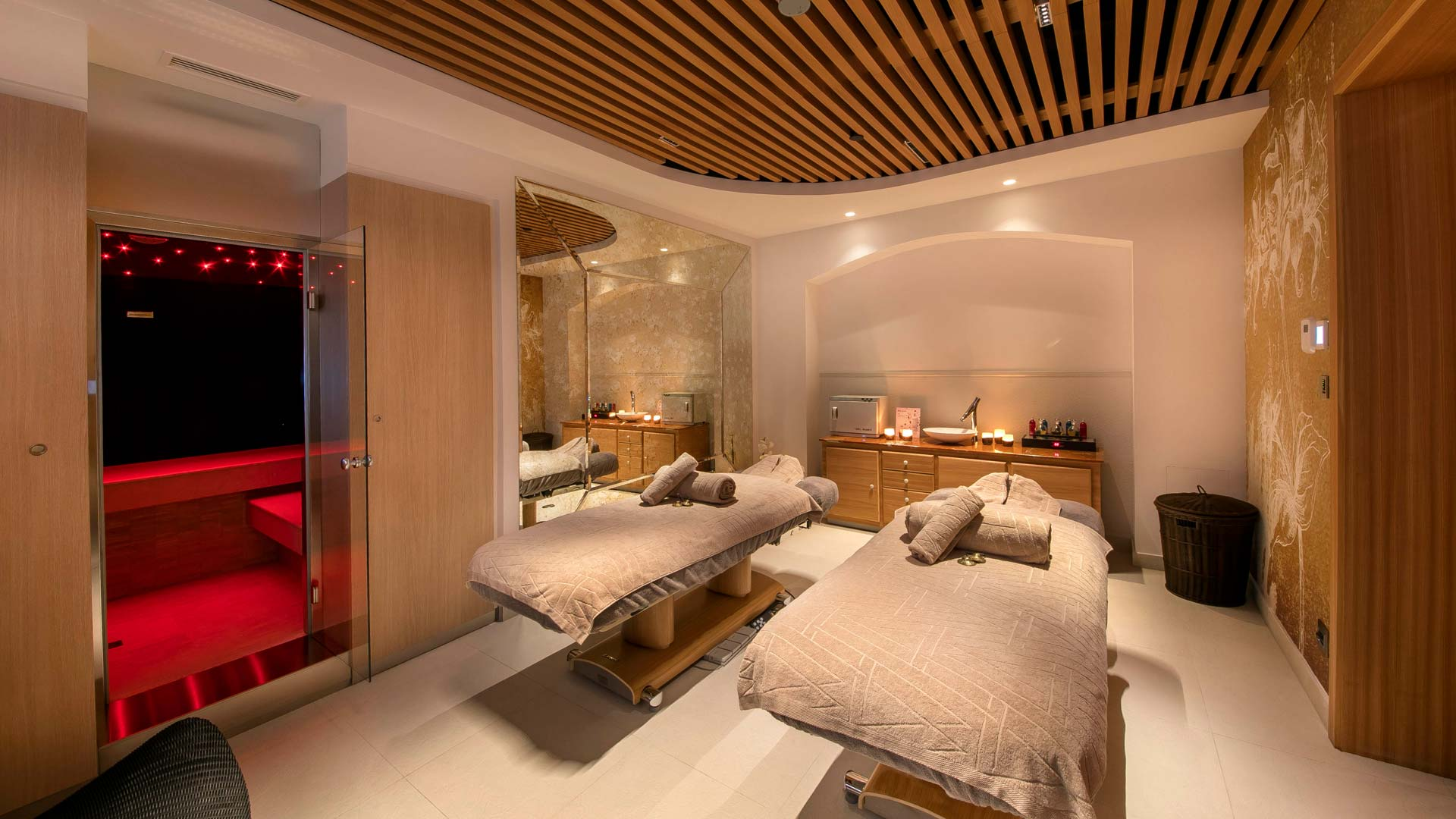 Fotografija hotelske sobe za masažu